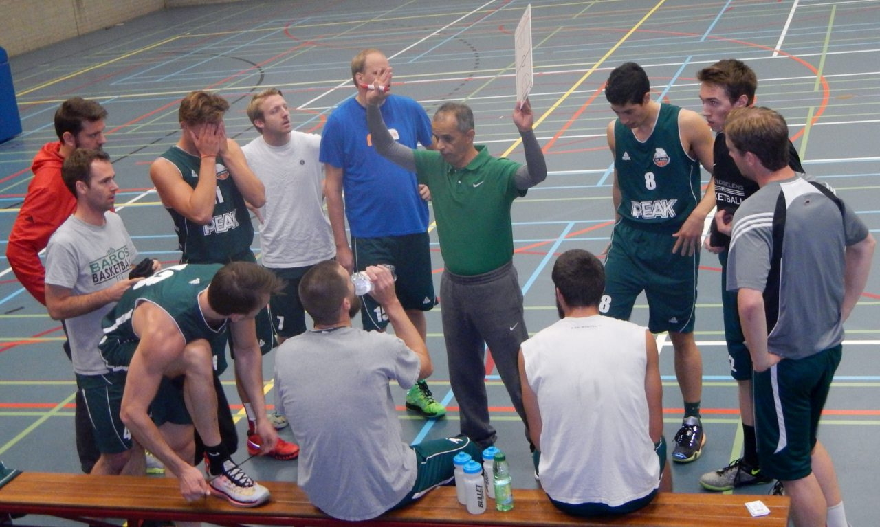 baros basketbal teambespreking