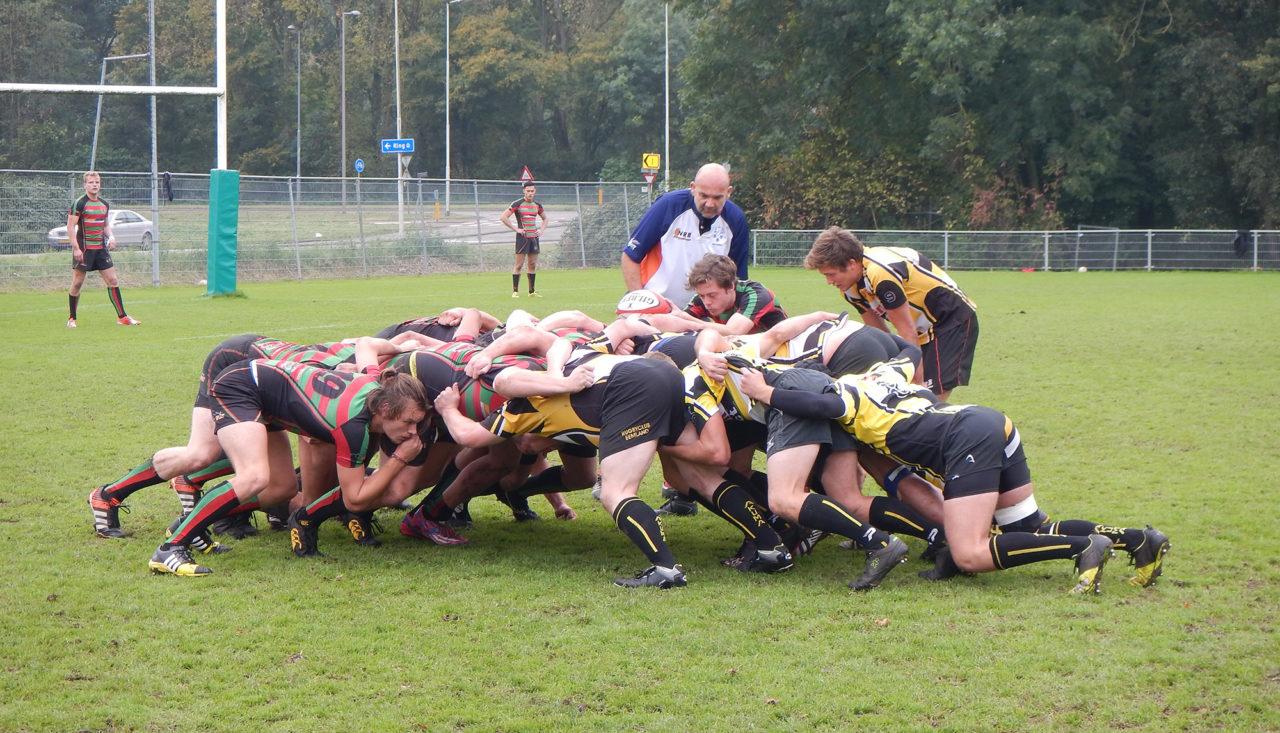 rugby RSRC 1 tegen RC Eemland (3)