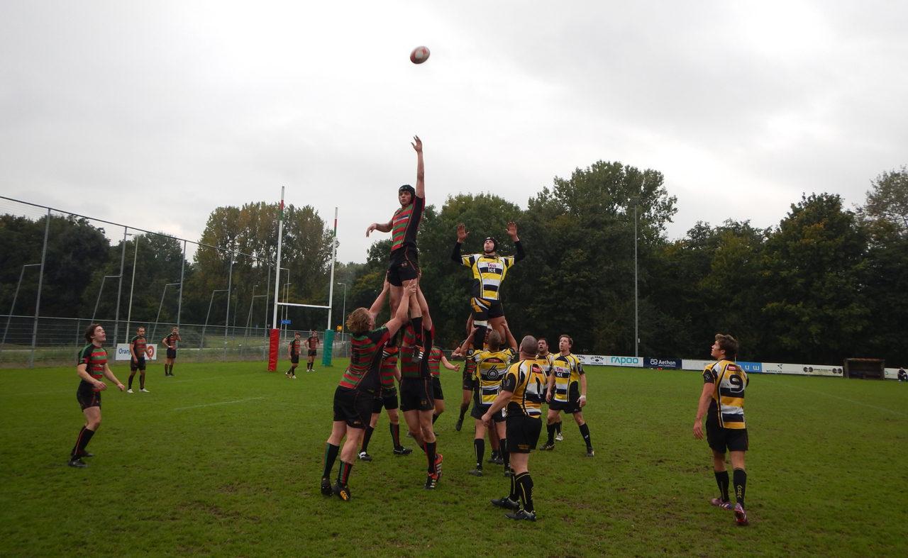 rugby RSRC 1 tegen RC Eemland (1)