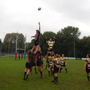 Rugbyers RSRC verslaan RC Eemland met speels gemak