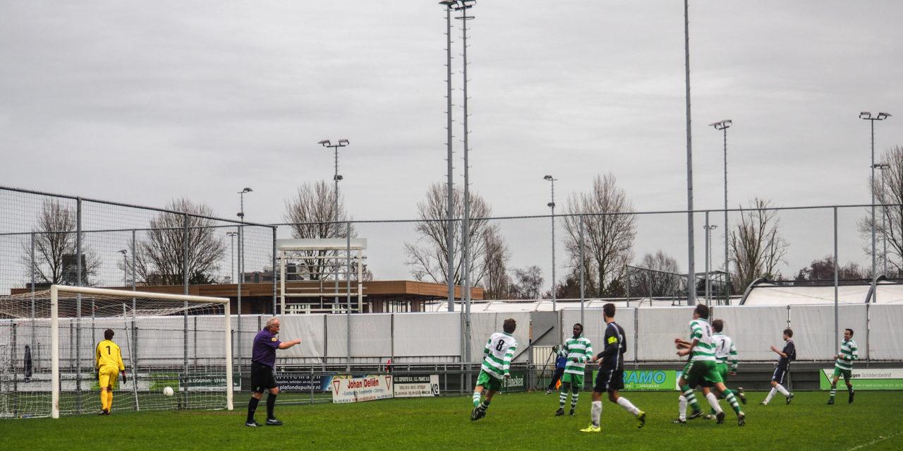 Antibarbari tegen Oliveo sport voetbal