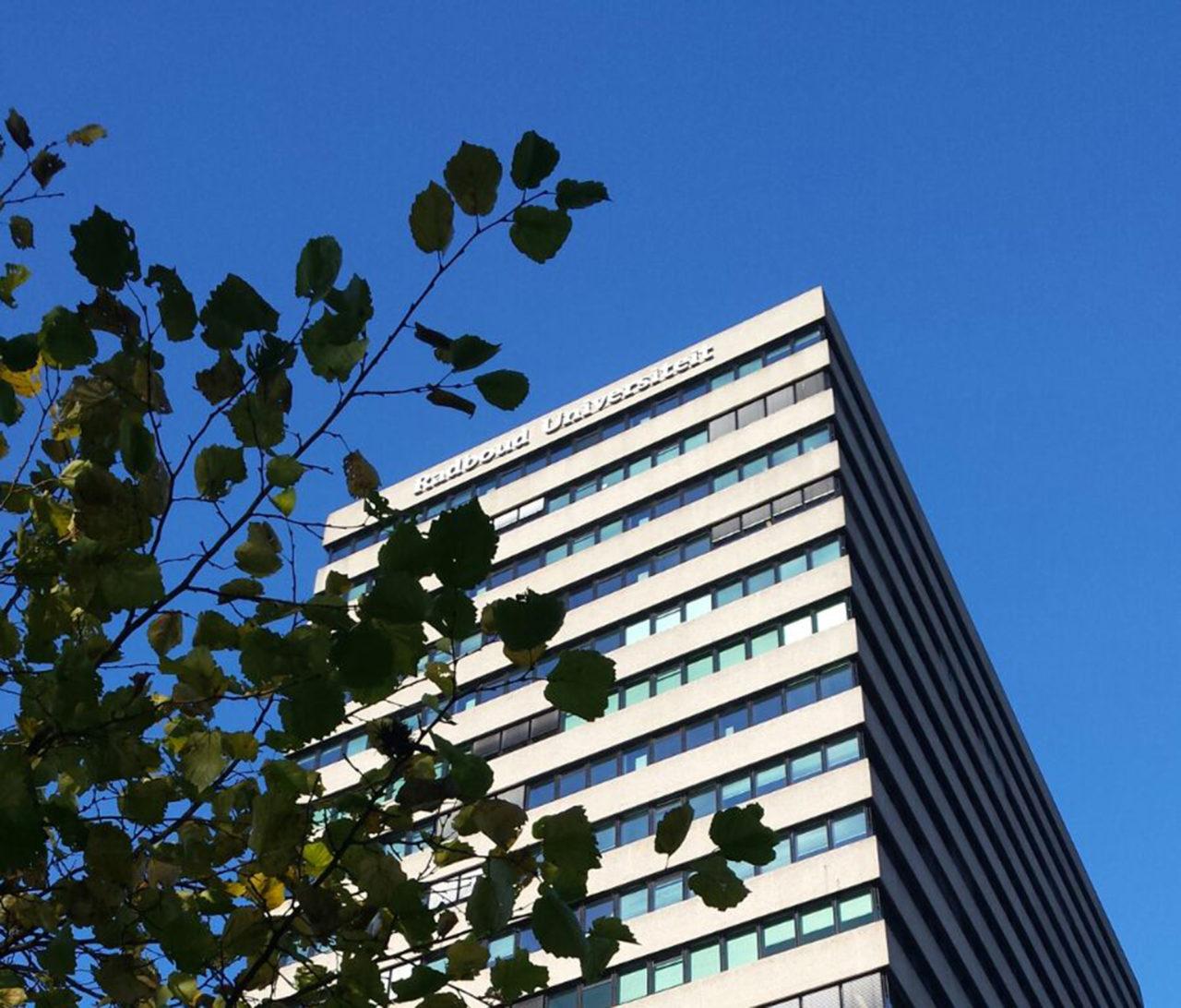Erasmusgebouw Radboud Universiteit