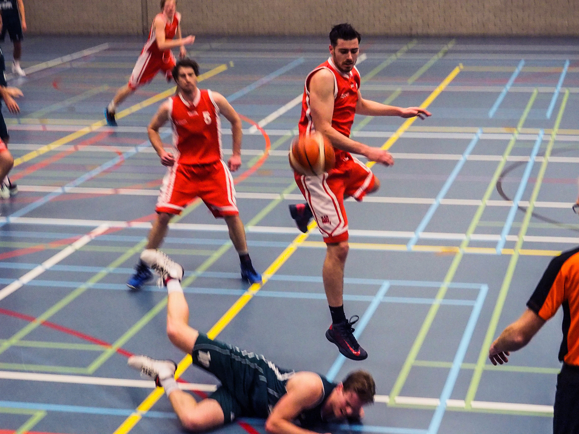 Baros tegen Punch Delft teambespreking