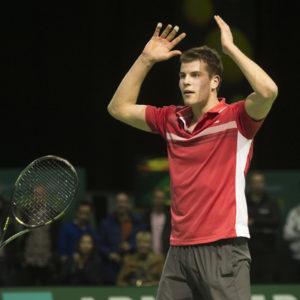 Tennisspeler Passing Shot mag dubbelen op ABN Amro-toernooi
