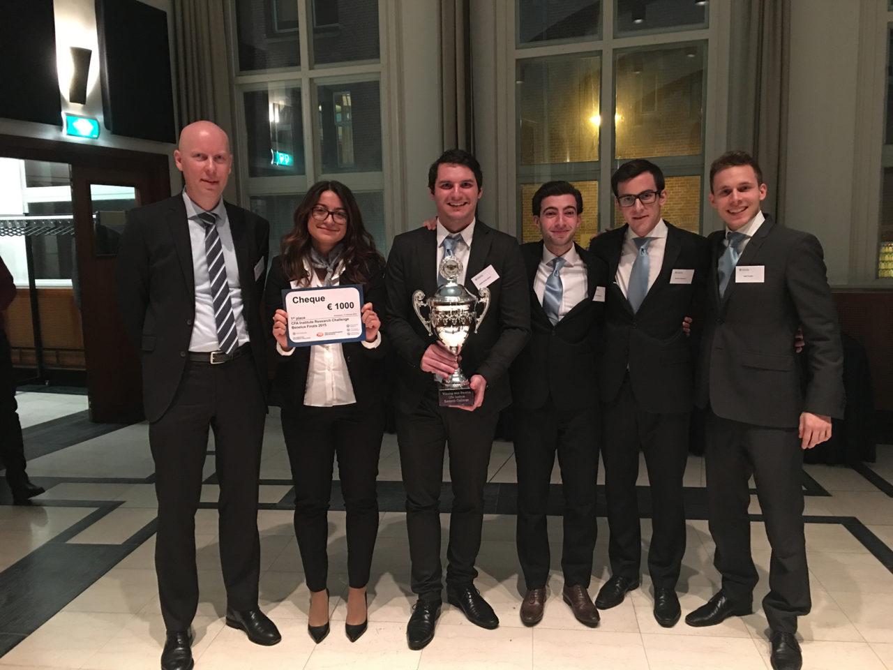 CFA Research Institute Challenge winners February 2016