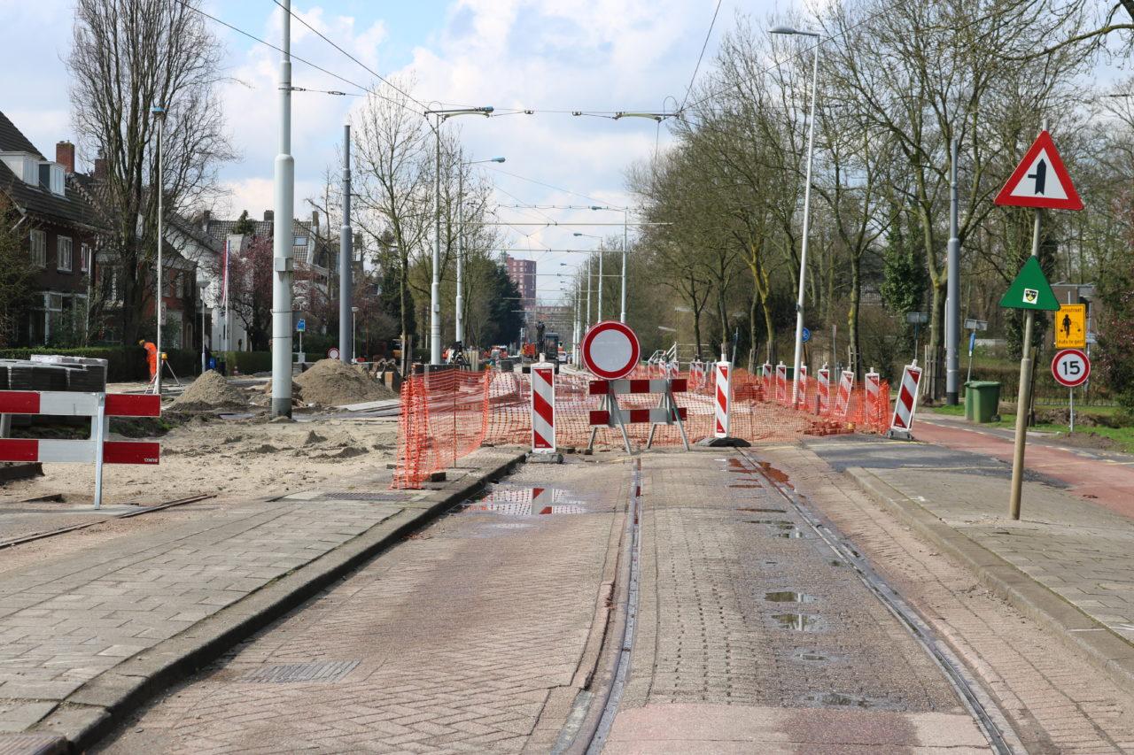 's Gravenweg werkzaamheden april 2016