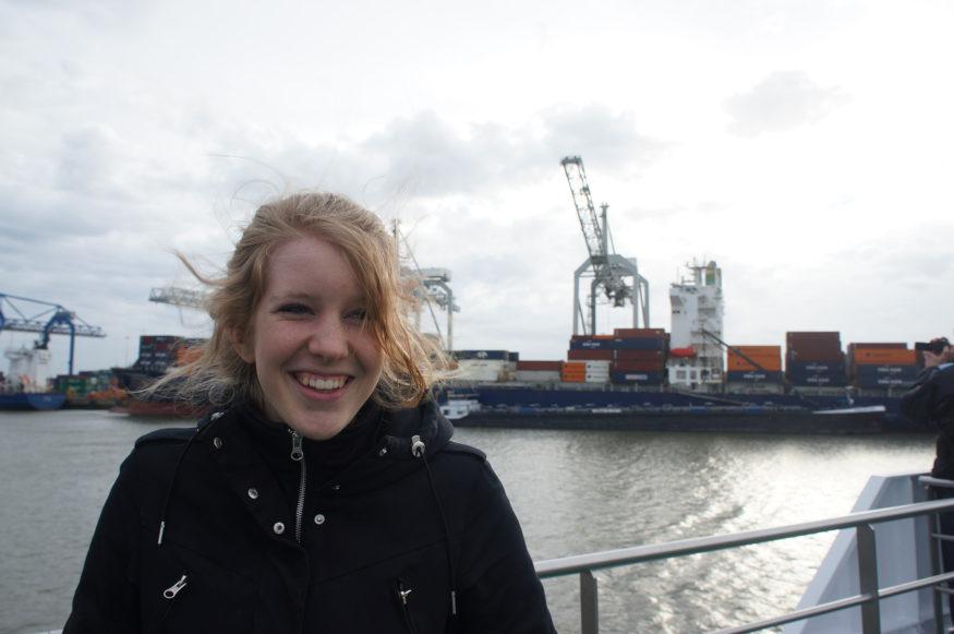Janneke Wagner haven van Rotterdam