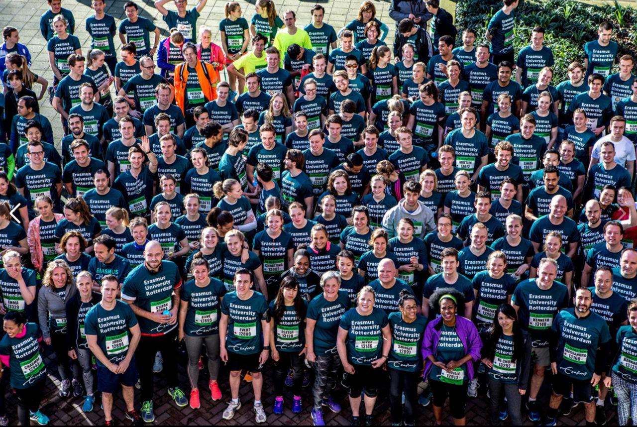 erasmus charity run groepsfoto 2016