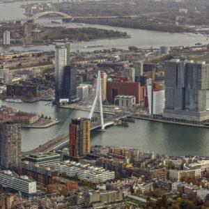 Rotterdam onbewolkt Peter Elenbaas 6