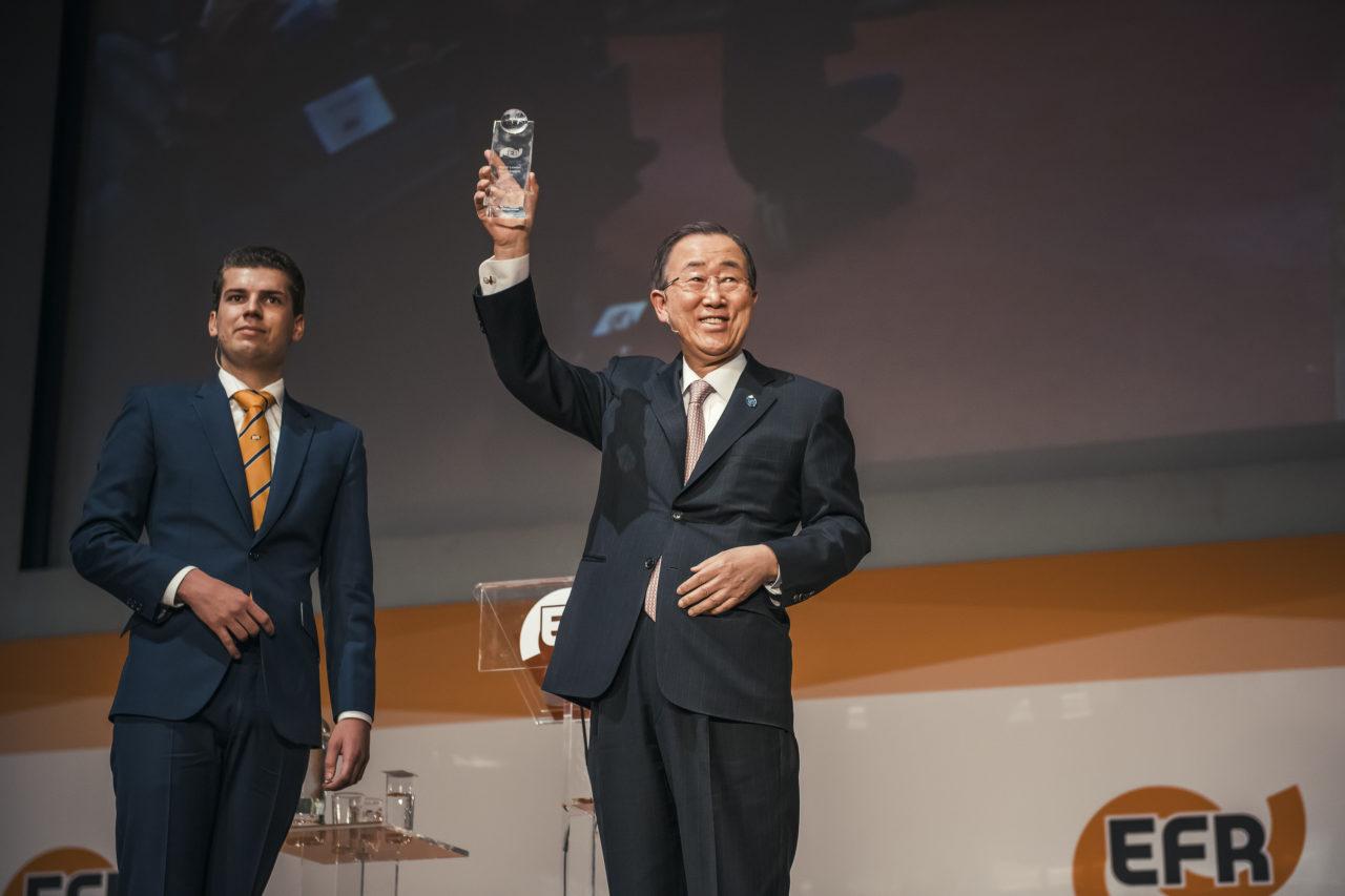 Ban Ki Moon World Leader Cycle Award
