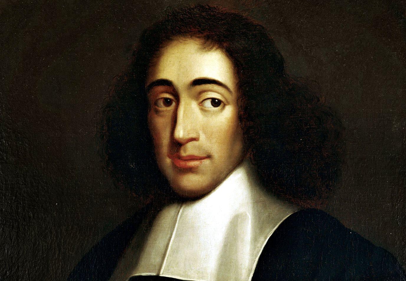 spinoza portret