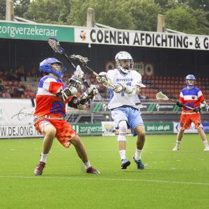 Rotterdam Jaguars vierde op NK Lacrosse