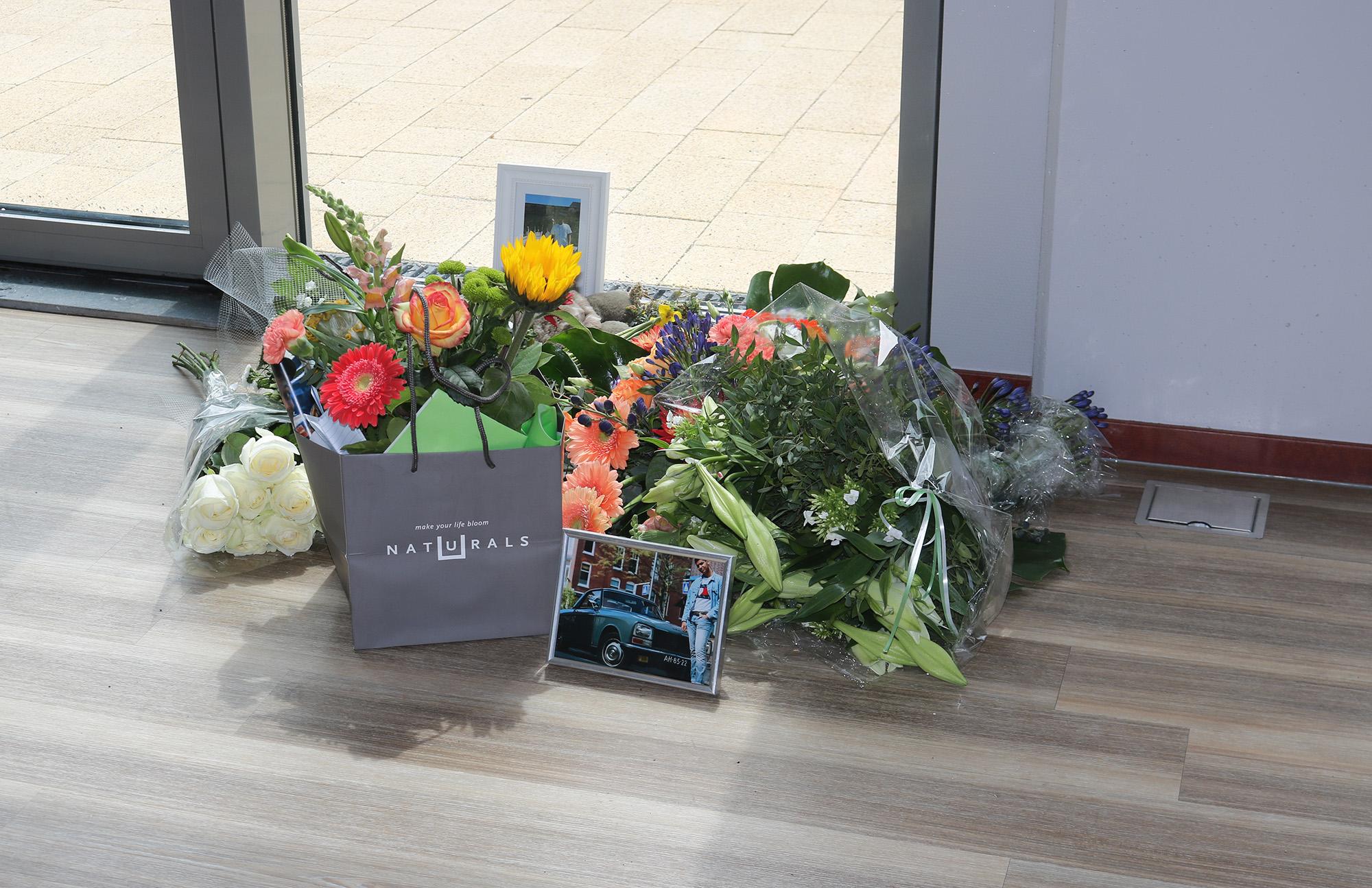 bloemen kingsley james overlijden fitness erasmus sport (2)