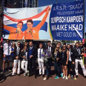 Skadi juicht voor gouden Maaike Head in RAI Amsterdam