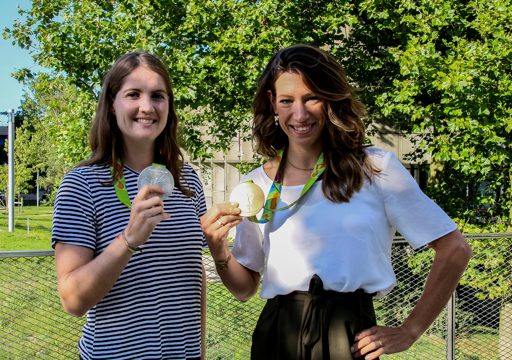 Marloes Keetels en Maaike Head olympische spelen Rio