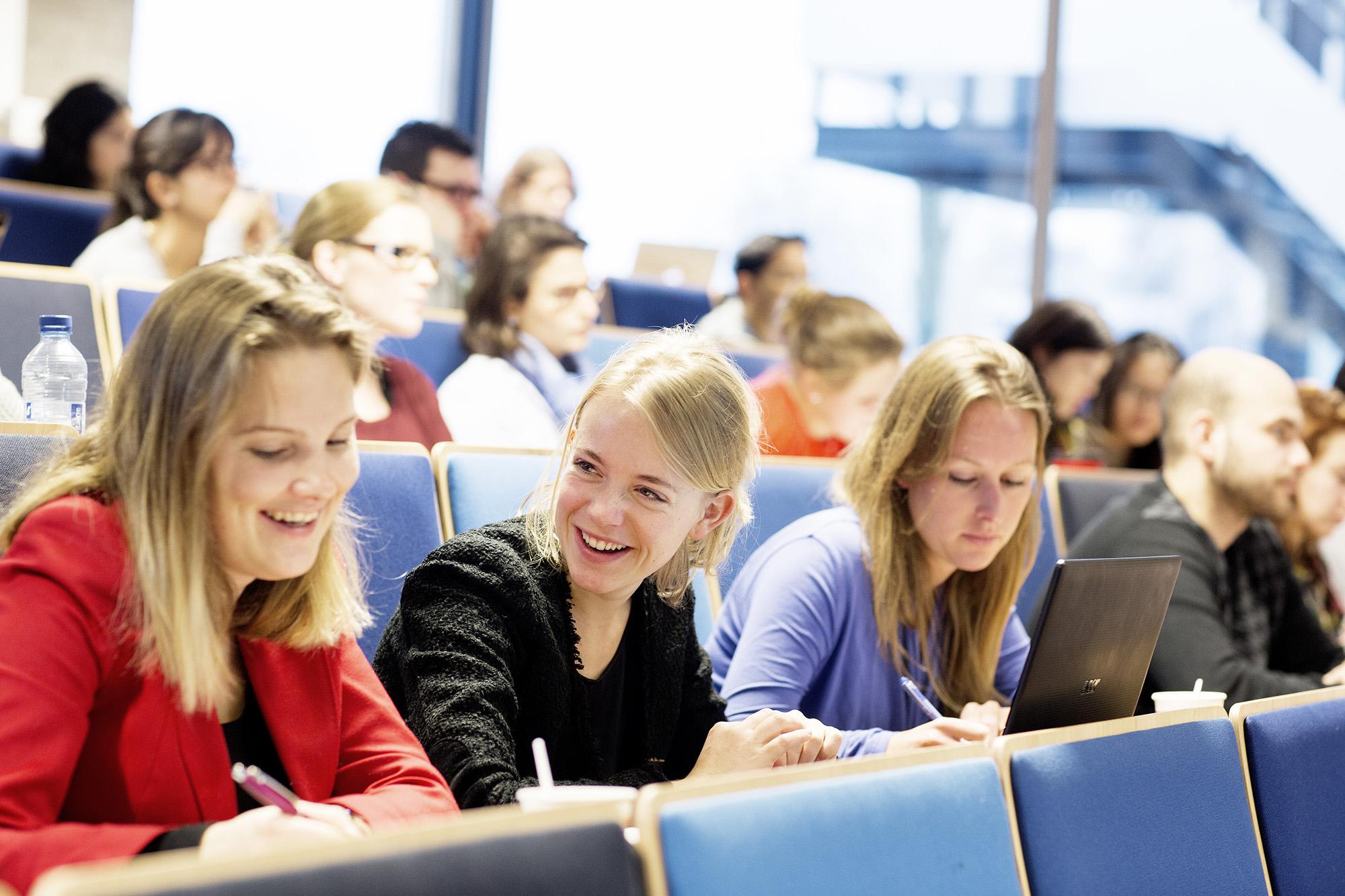 studenten-collegezaal