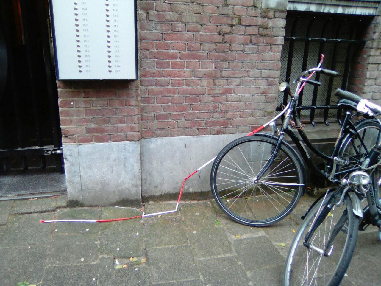brand-essenburgsingel-fiets-politielint-voordeur-studentenpand