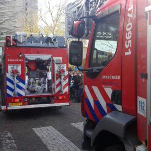 Brand bij koffieautomaat in G-gebouw