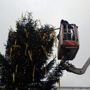 kerstboom reparatie
