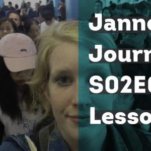 Janneke's Journey #8: Wijzer geworden