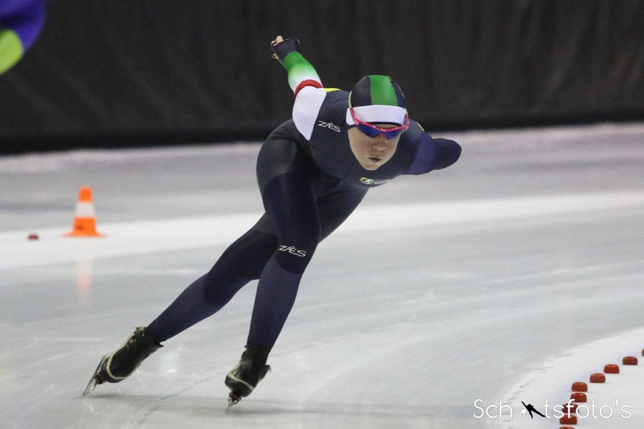 ariane smit schaatsen langebaanschaatsen universiade topsport
