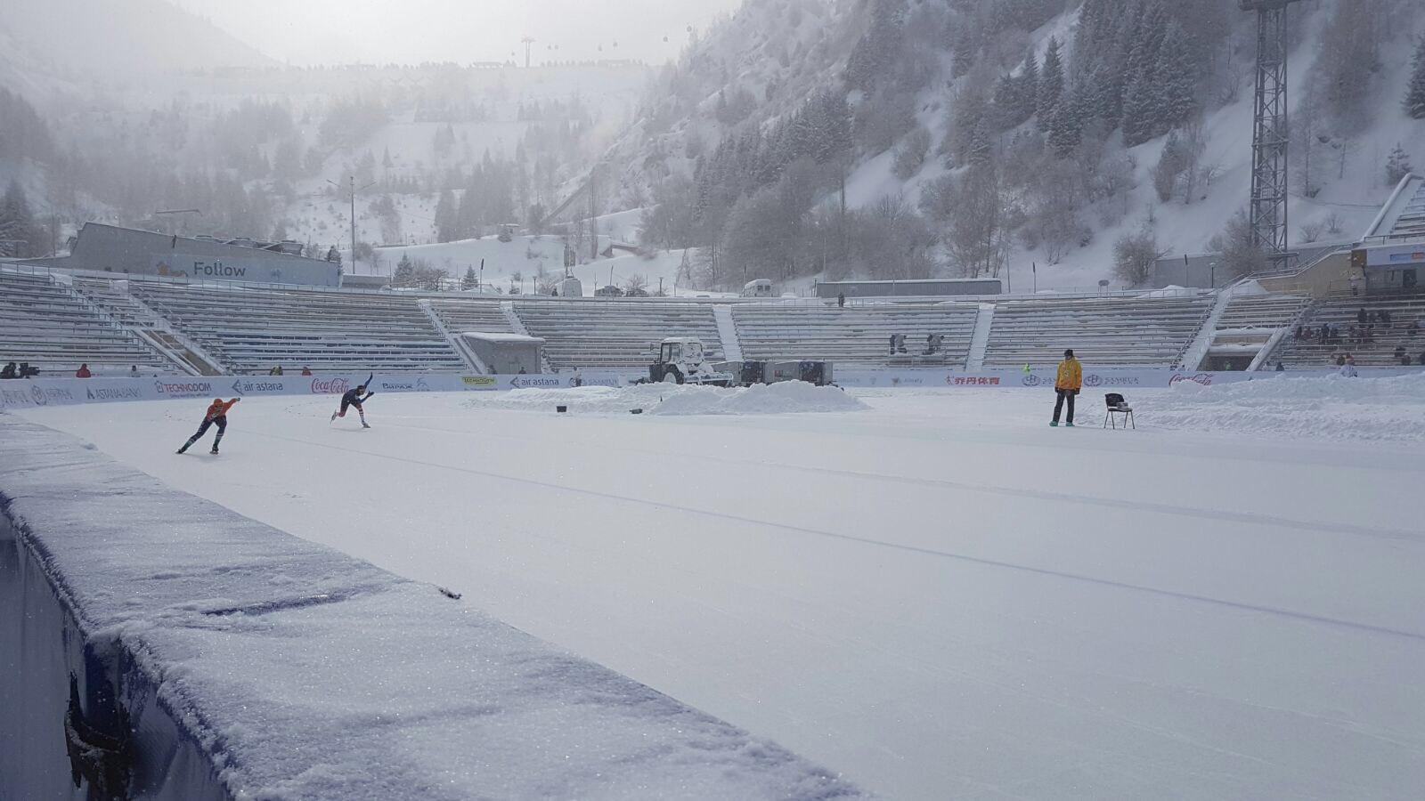 Ariane Smit, Almaty, schaatsen, Universiade