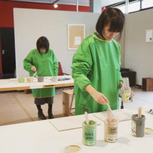 Erasmus Gallery omgetoverd tot atelier