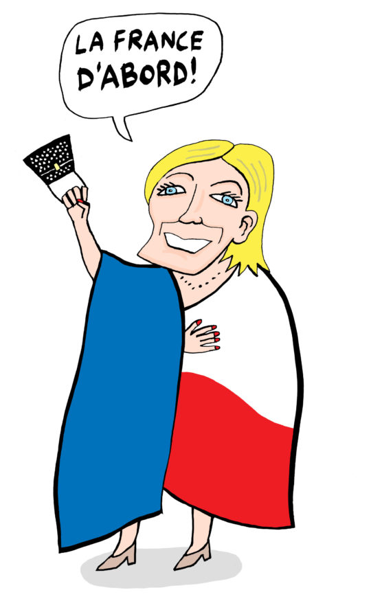 em-populist le pen front national frankrijk