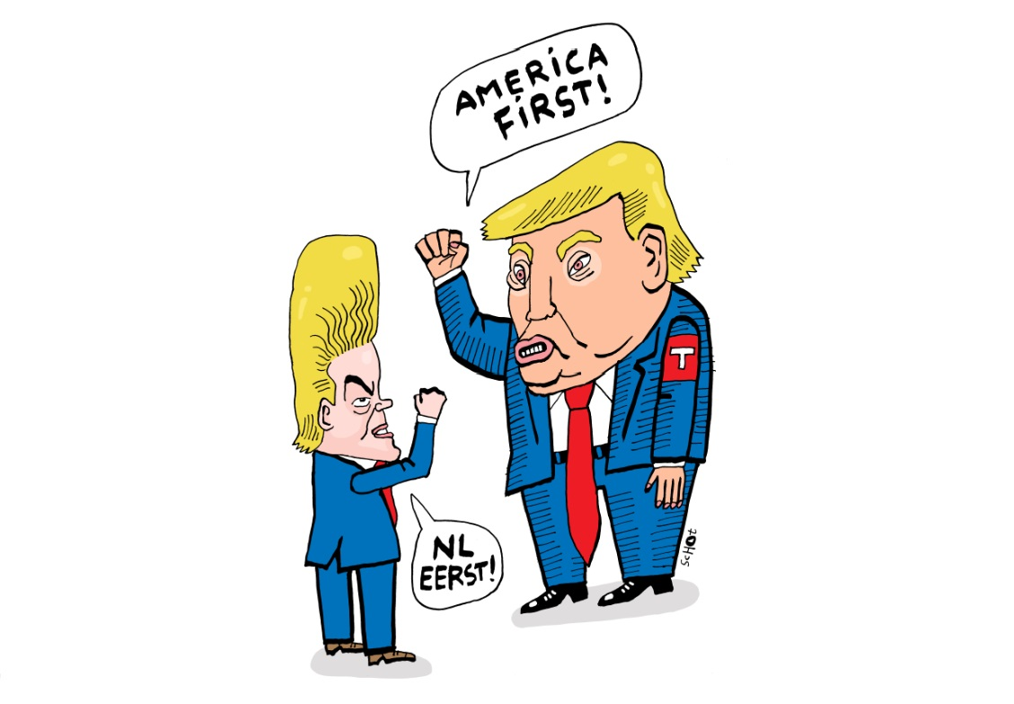 Wilders en Trump