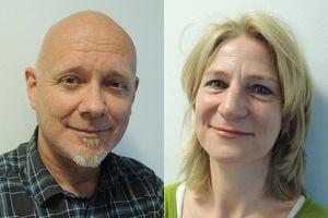 Martin Blok en Lucienne van Hooijdonk