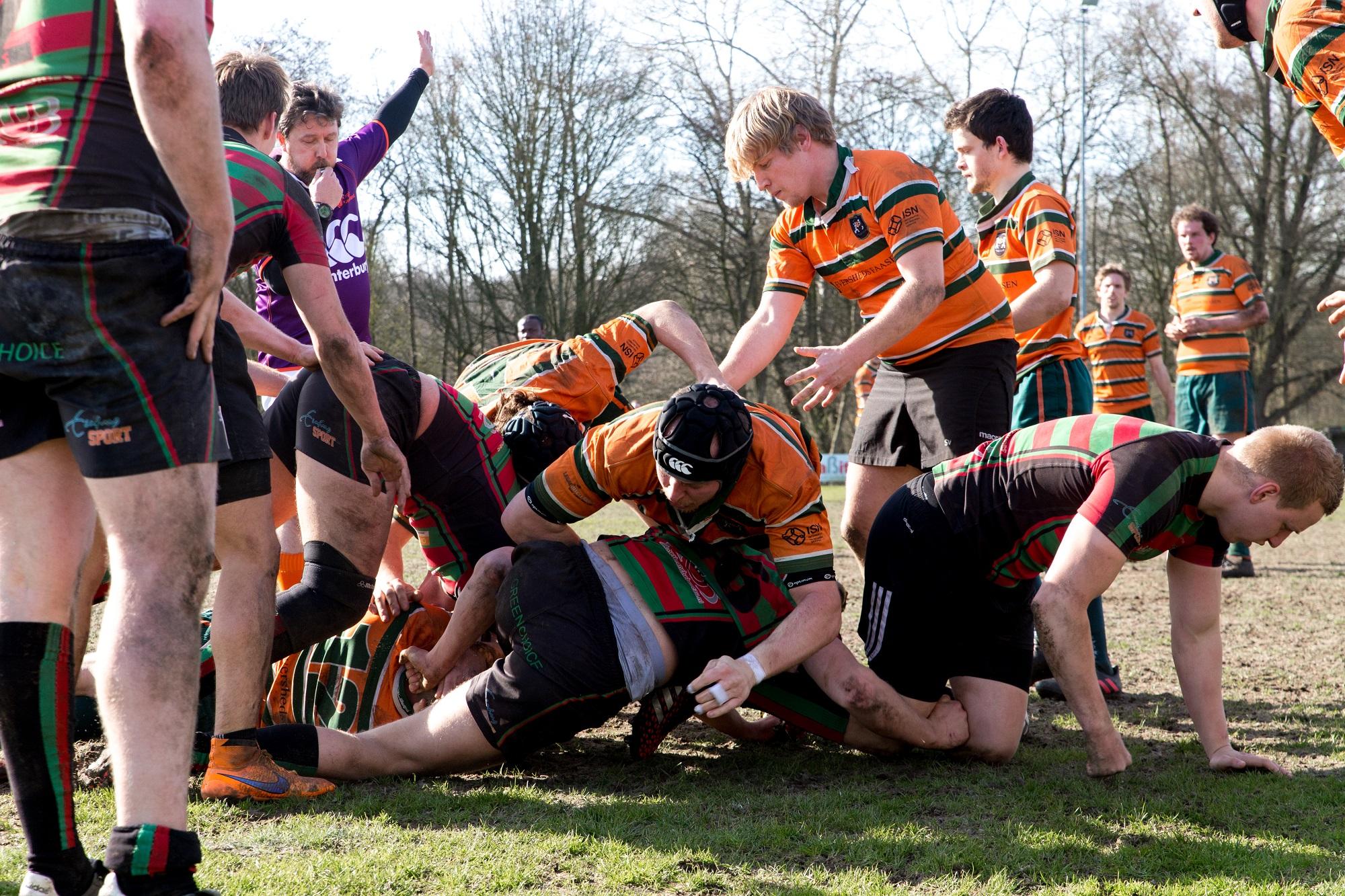 RSRC RRC Rugby maart 1