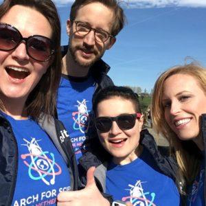 Opkomen voor de wetenschap tijdens de March for Science
