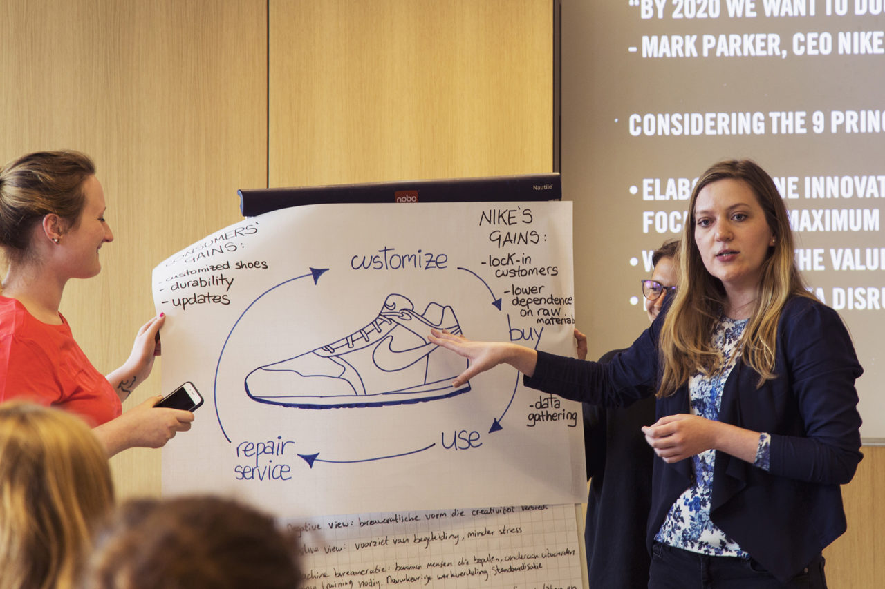 Workshop Nike pitch Erasmus Sustainability Days foto Aysha Gasanova