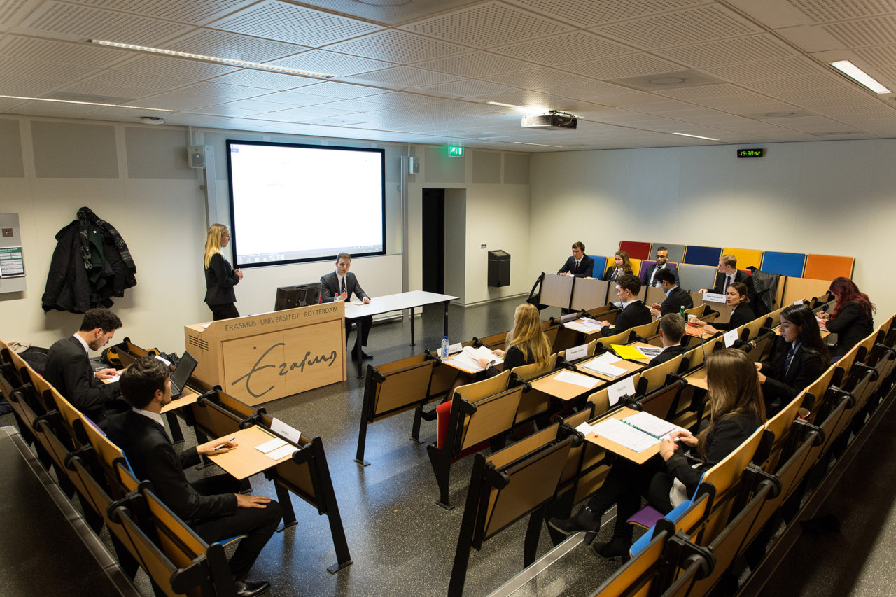 collegezaal model un 2017
