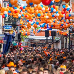 De Fruithaven Koningsnacht, Kroon Festival en : de mooiste tips voor begin april, Koningsdag special