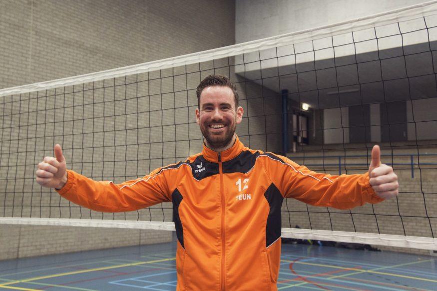 Teun Trommels Erasmus Volley Dames kampioen City Bril Krimpen