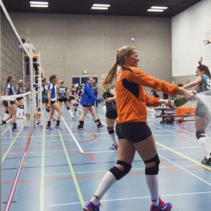 Erasmus Volley Dames kampioen City Bril Krimpen 5