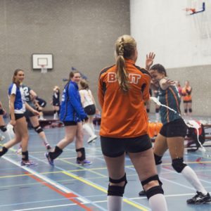 Erasmus Volley Dames kampioen City Bril Krimpen 6