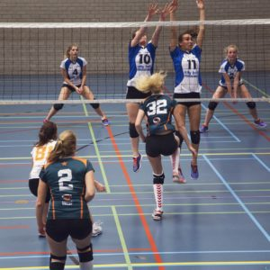 Erasmus Volley Dames kampioen City Bril Krimpen 1