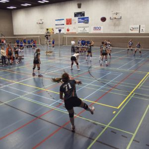 Erasmus Volley Dames kampioen City Bril Krimpen 2