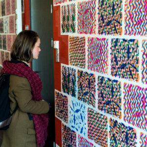 Kunstenaarsduo creëert oogverblindende tentoonstelling in Erasmus Gallery