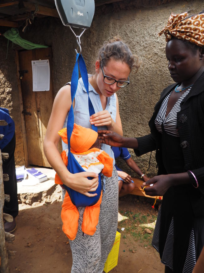 Paul Mertens veldonderzoek Kenia Afrika gezondheid studenten