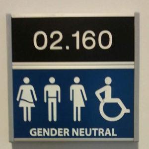 genderneutraal toilet Radboud universiteit