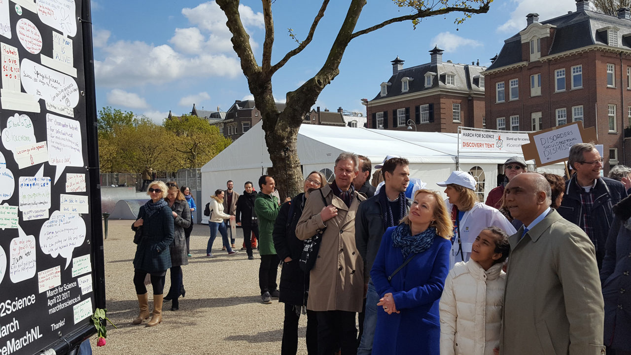 march for science 22 april musemplein bussemaker subramaniam