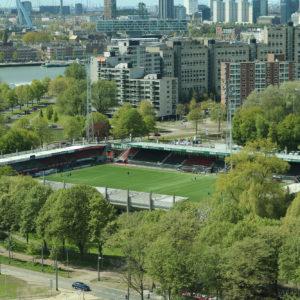 Campus dicht tijdens kampioenswedstrijd Feyenoord