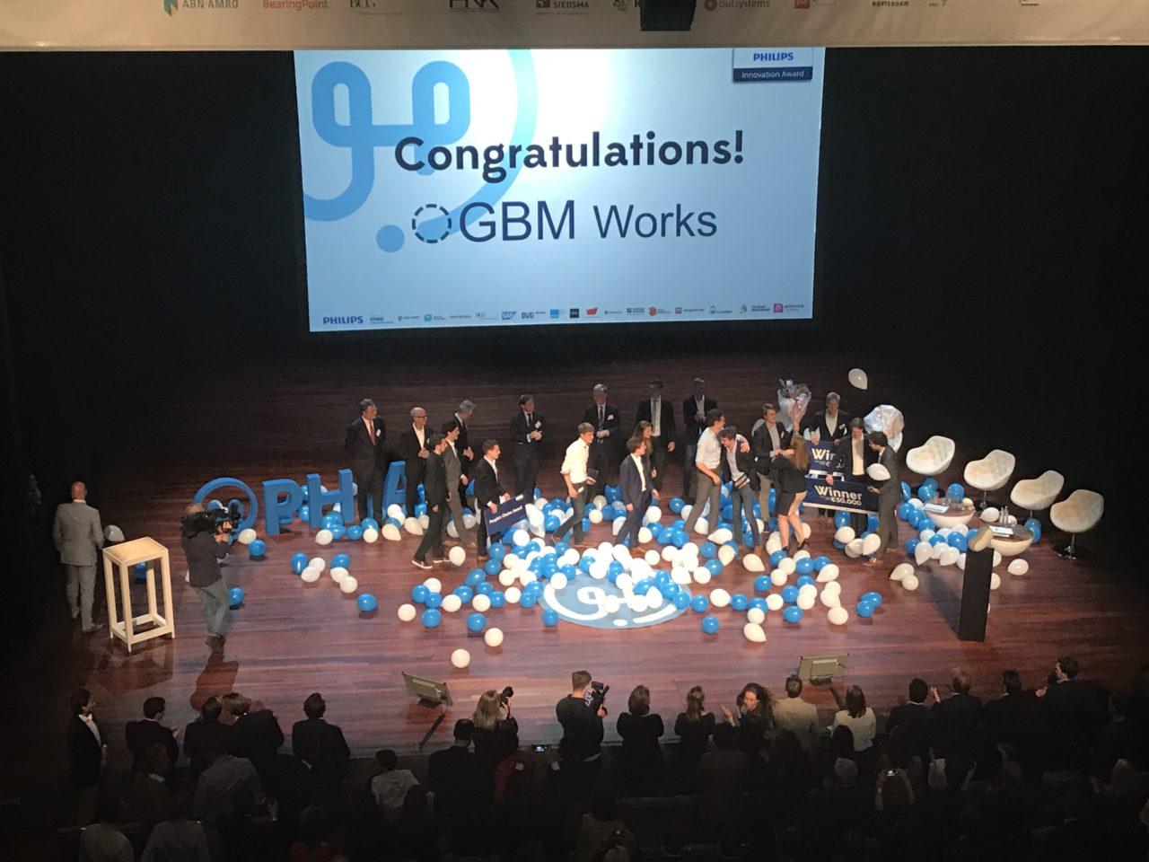 GBM works Philips Innovation Award 2017
