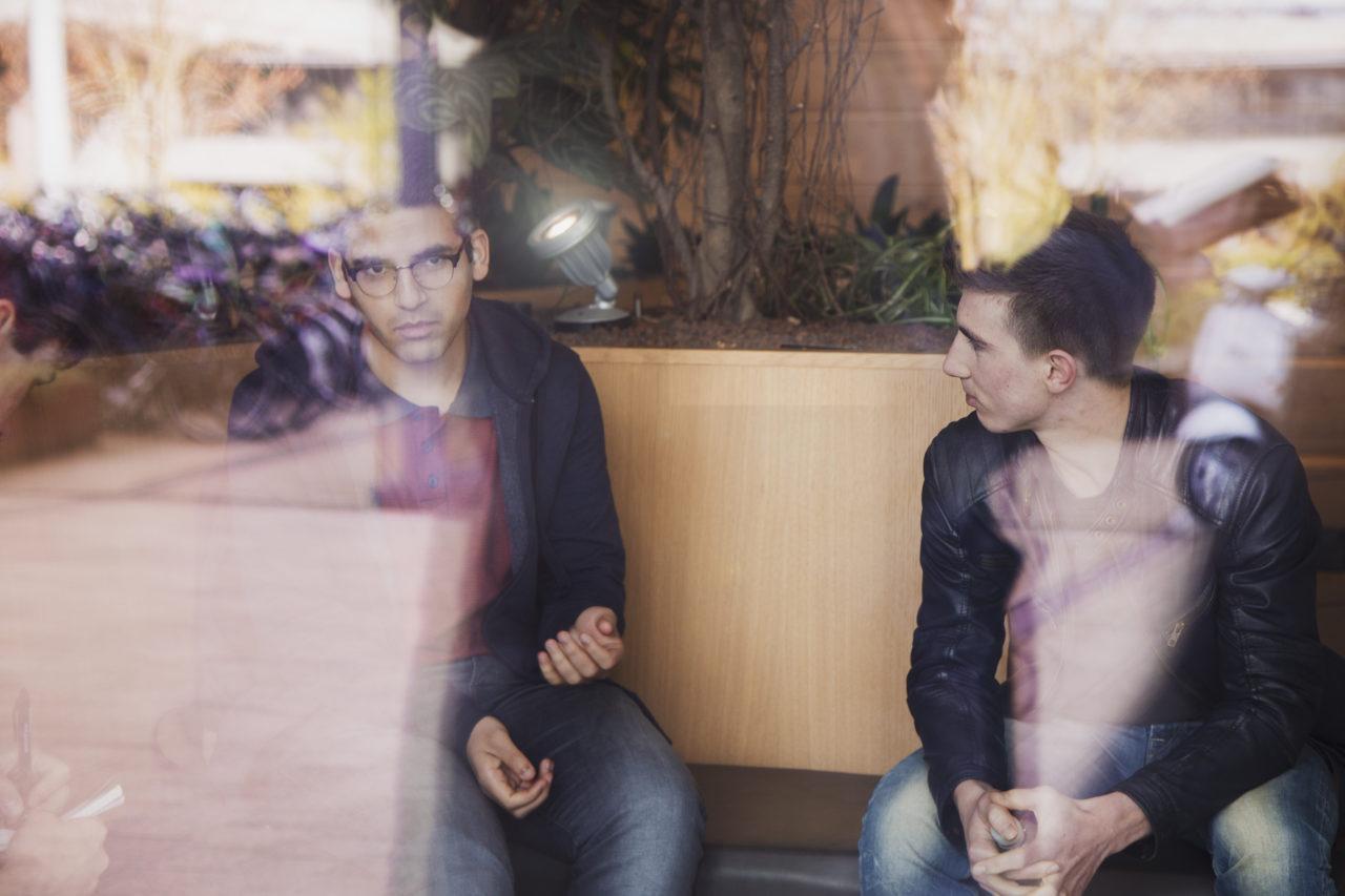 Saeed Kattoub en Joeri de Haas Taalbuddy