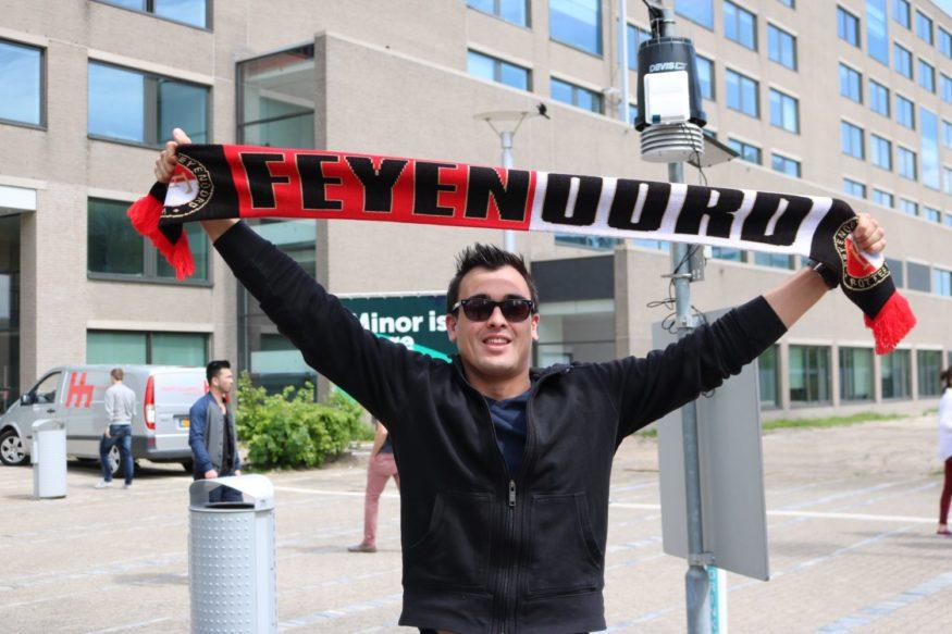 Feyenoord Robin van zijl foto Laanen