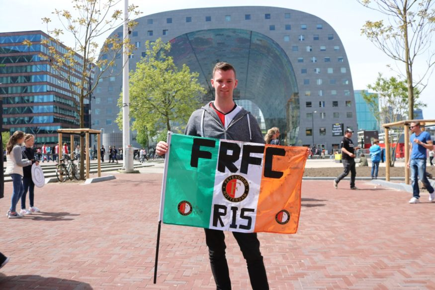 Peter Moane Feyenoord foto Laanen