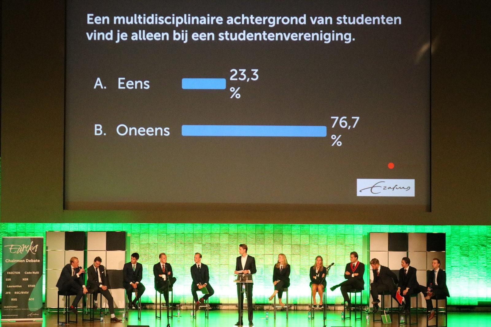 voorzittersdebat verenigingen eurekaweek 4
